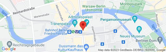 WOMENS GYM JOPP und JOPP, Friedrichstraße 100