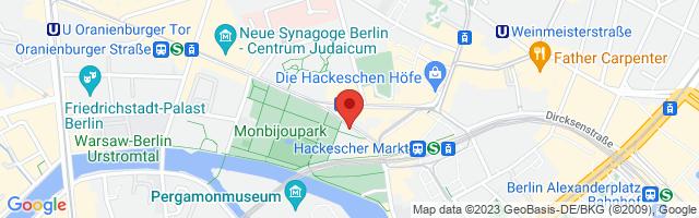Bodystreet Berlin Monbijouplatz, Monbijouplatz 10