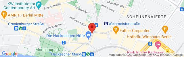 bauchladen für Frauen - Rosenthaler Straße, Rosenthaler Straße 36