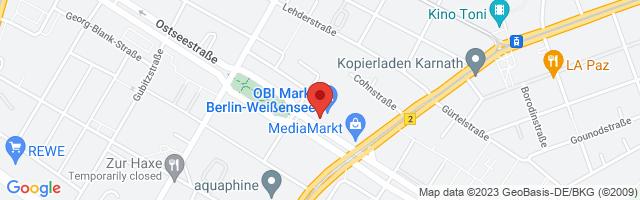 Kieser Training Berlin-Prenzlauer Berg, Ostseestraße 107