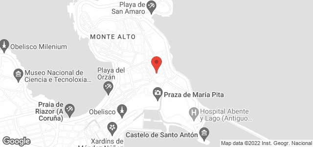 Google Map of calle san jose 15, coruña