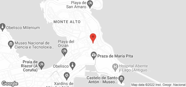 Google Map of calle san jose 15, coruña