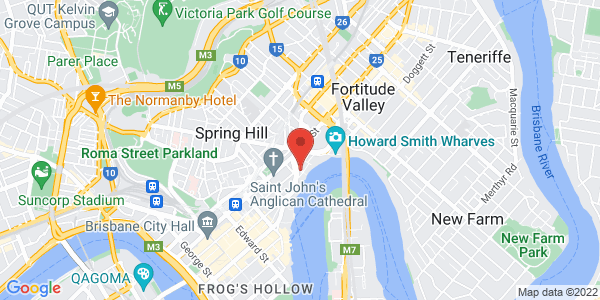 Map - Brisbane Marriott Hotel