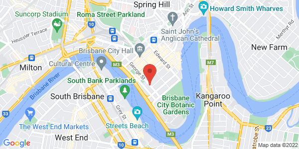 Map - Rendezvous Hotel Brisbane on George