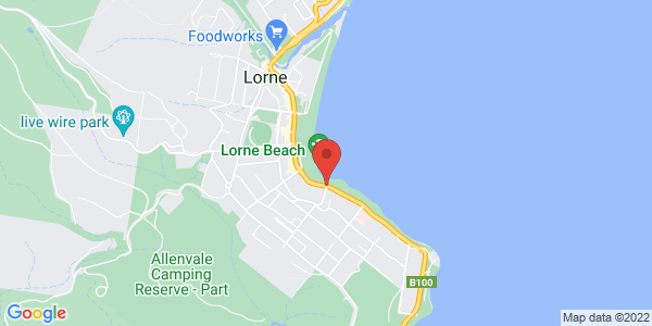 Map - Mantra Lorne