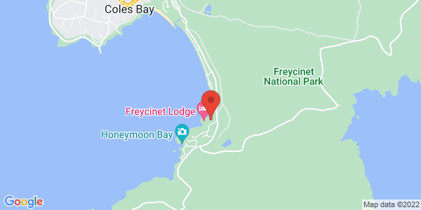 Map - Freycinet Lodge