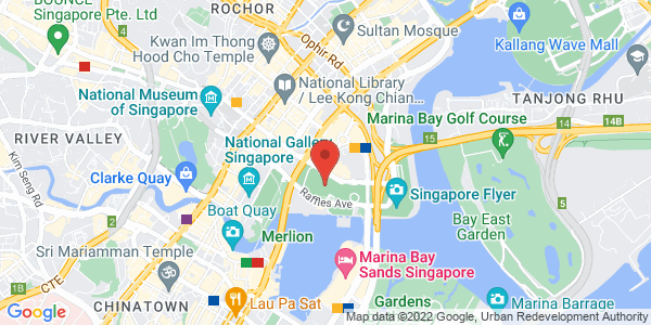 Map - Mandarin Oriental, Singapore