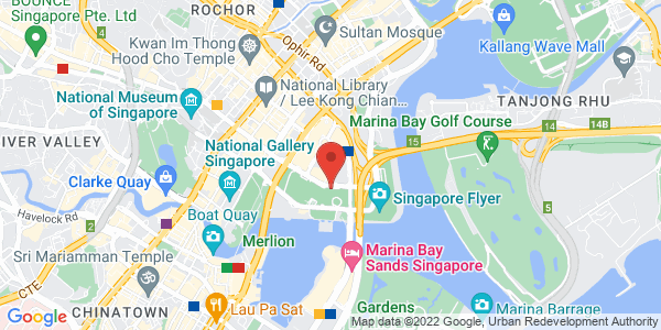 Map - The Ritz-Carlton, Millenia Singapore