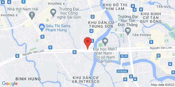 Map - Saigon Exhibition and Convention Center (SECC)