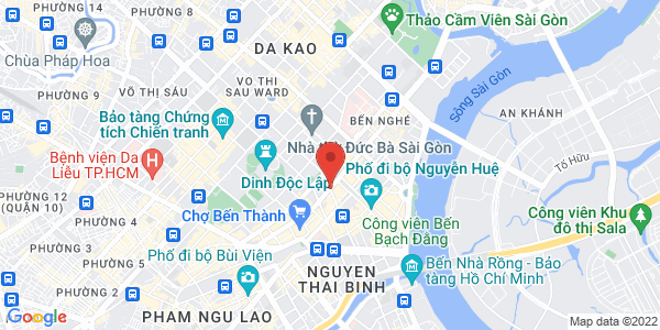 Map - InterContinental Saigon