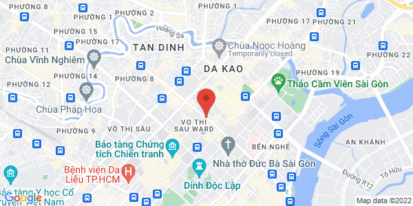 Map - InterContinental Asiana Saigon
