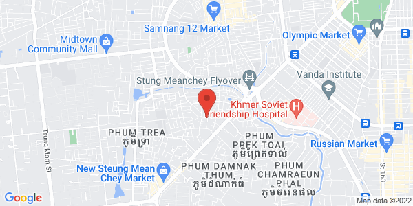 Map - InterContinental Phnom Penh