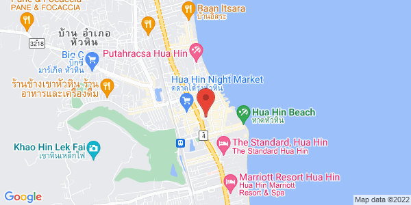 Map - Hua Hin Marriott Resort & Spa