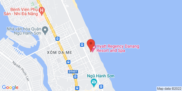Map - Hyatt Regency Danang Resort & Spa