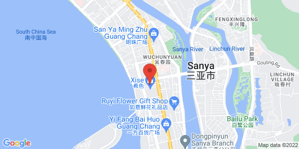 Map - InterContinental Sanya Resort