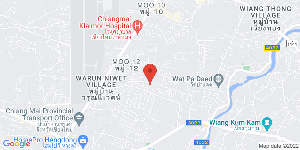 Map - dusitD2 chiang mai