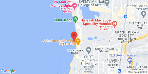 Map - JW Marriott Mumbai Hotel
