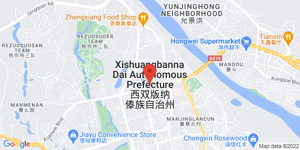 Map - InterContinental Xishuangbanna Resort