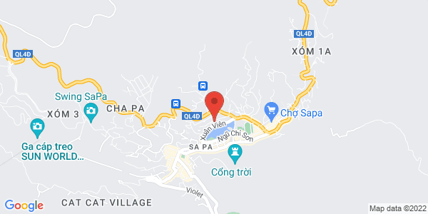 Map - Victoria Sapa Resort & Spa