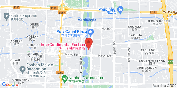 Map - InterContinental Foshan