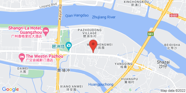 Map - The Westin Pazhou