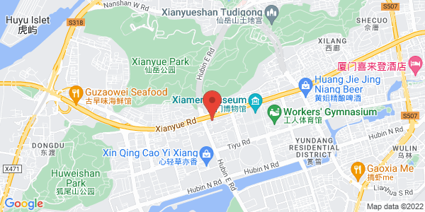 Map - Pan Pacific Xiamen