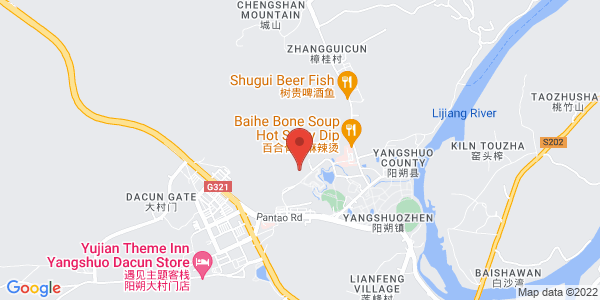 Map - Amari Yangshuo
