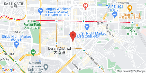 Map - Shangri-La's Far Eastern Plaza Hotel, Taipei