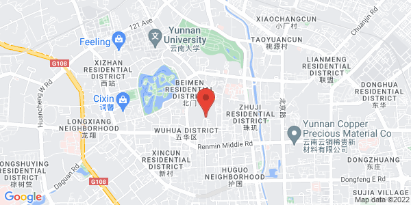 Map - Howard Johnson Tropical Garden Plaza Kunming