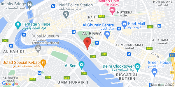 Map - Hilton Dubai Jumeirah Resort