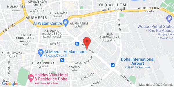 Map - Holiday Inn Doha - The Business Park