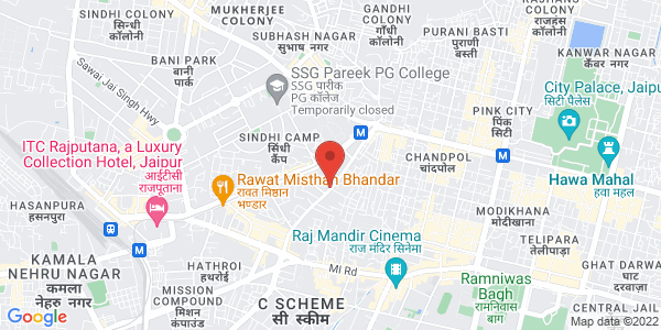 Map - Mansingh Towers