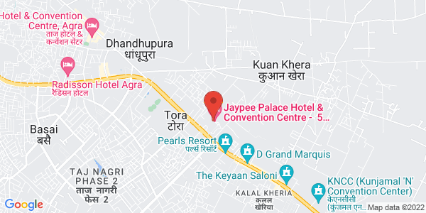 Map - Jaypee Palace Hotel & Convention Centre