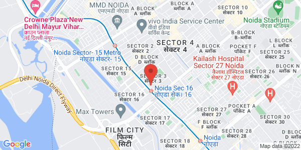 Map - India Expo Centre and Mart