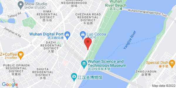 Map - Howard Johnson Pearl Plaza Wuhan