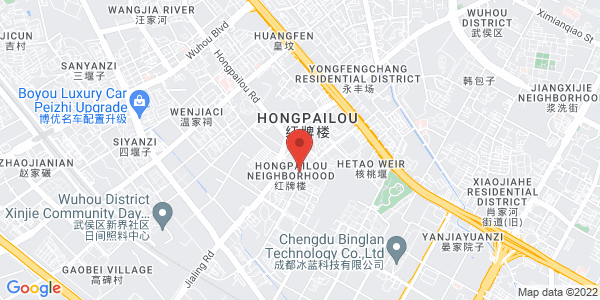 Map - Regal Master Hotel, Chengdu