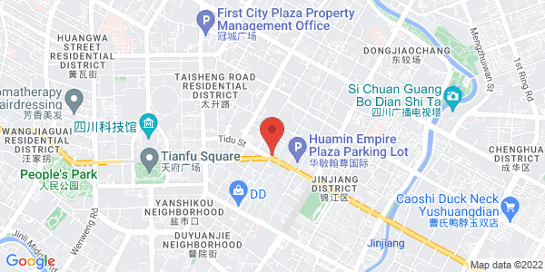 Map - Crowne Plaza Chengdu City Center