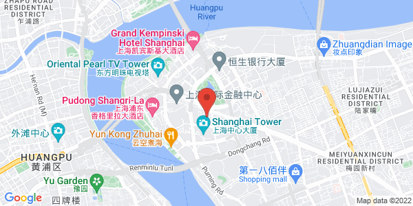 Map - Grand Hyatt Shanghai