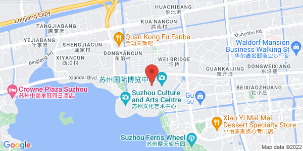 Map - Suzhou Jinji Lake International Convention Centre