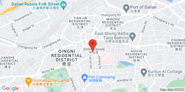 Map - Swish-hotel Dalian