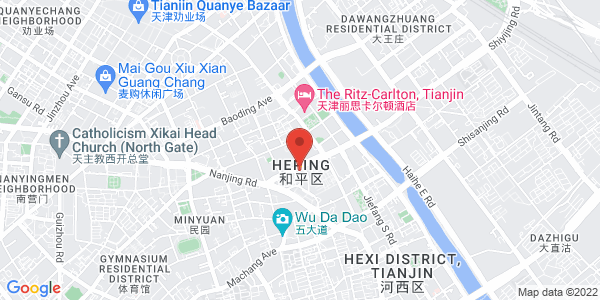 Map - The St. Regis Tianjin 天津瑞吉金融街酒店