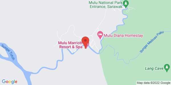 Map - Mulu Marriott Resort & Spa