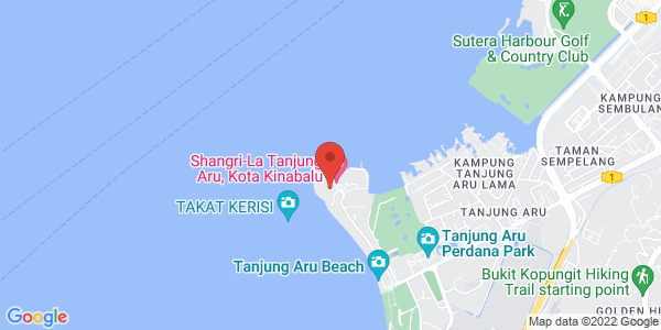 Map - Shangri-La's Tanjung Aru Resort & Spa