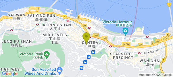 Hong Kong - Bryan Cave Map