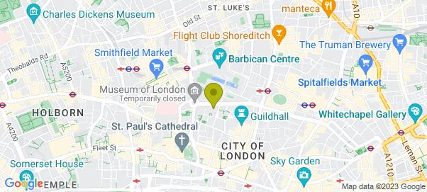 London - Wood Street Map