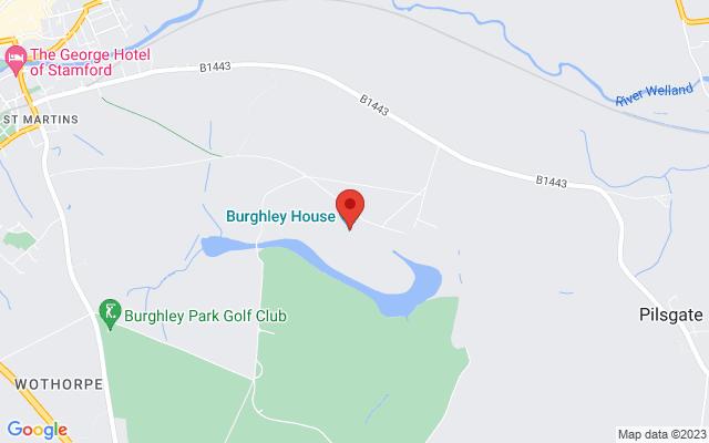 <div class='adr' >                             <div class='street-address'>Burghley House</div>                             <div class='extended-address'></div>                             <div>                                 <span class='locality'>Stamford</span>,                                 <span class='region'></span>                                 <span class='postal-code'>PE9 3JY</span>                             </div>                             <div class='country'>United Kingdom</div>                         </div> on Google Maps
