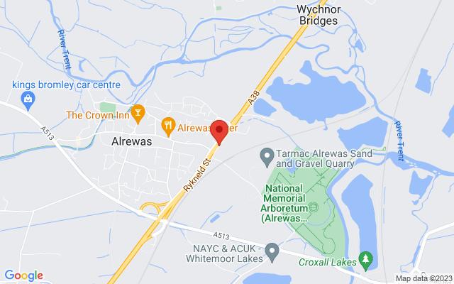 <div class='adr' >                             <div class='street-address'>Croxall Road</div>                             <div class='extended-address'></div>                             <div>                                 <span class='locality'>Alrewas</span>,                                 <span class='region'></span>                                 <span class='postal-code'>DE13 7AR</span>                             </div>                             <div class='country'>United Kingdom</div>                         </div> on Google Maps