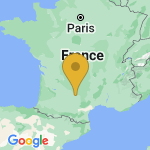 Location of Tonnac on map of France