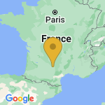 Location of Salles on map of France