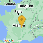 Location of Serbannes on map of France